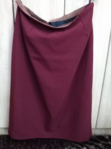 Bordo-kaputz - Srbija: Suknja. Duga. Bordo. Xl