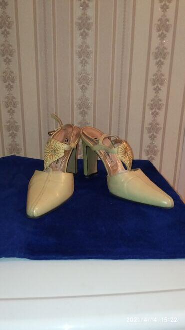 Босоножки туфли натуральная кожа, производство Италия в очень хорошем