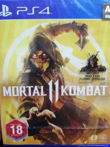 Bakı şəhərində Ps4 üçün Mortal Kombat 11 oyun diski. Rus dilində. Təzə