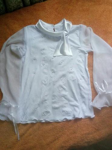 Школьные блузки - Кыргызстан: Блузки на девочку 40р