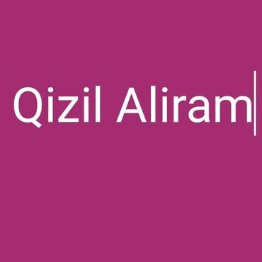 Qızıl zinət əşyaları alisi yuksek qiymetle