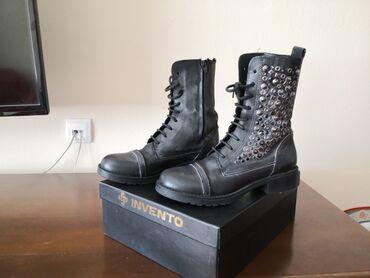 Kožne kratke čizme, broj 37,NOVO. Italijanske, kvalitetne na