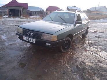 переходка в Кыргызстан: Audi 100 1.8 л. 1989
