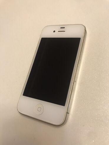 зарядка iphone 4s в Азербайджан: Б/У iPhone 4S 16 ГБ Белый