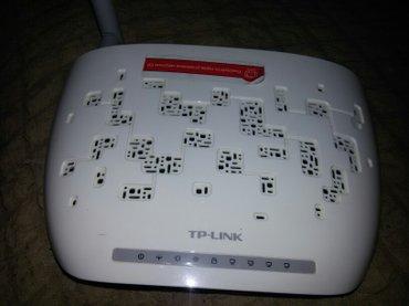 ADSL модем TPLINK +вайфай роутер прошу 600 сом в Бишкек