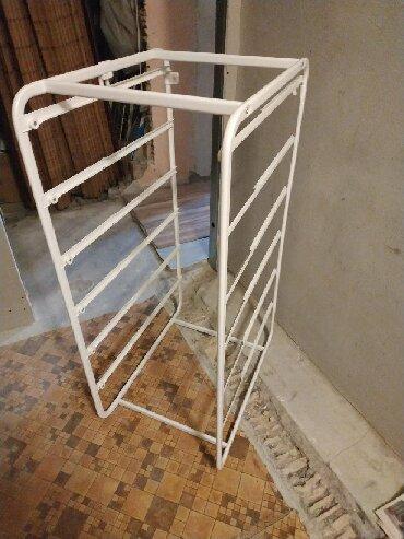 железные вешалки для одежды в Кыргызстан: Продаю полку IKEA без ящиков, новая. Можно сделать полки самим