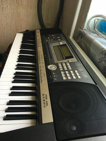 Yamaha psr 640. Сост отличное. Как новый. Из в Ош