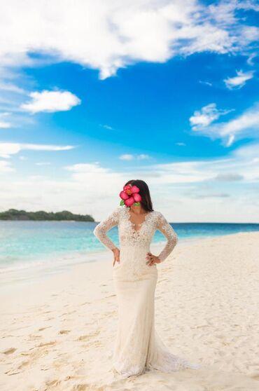 Сдаю или продаю платье свадебное. Кружево нежнейшего плетения