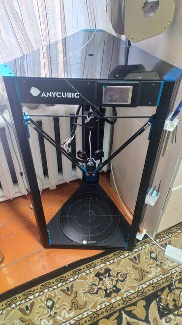 3D принтер, Anycubic predator.Огромный принтер, быстрый, с большим