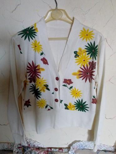 Košulje i bluze | Kraljevo: Pamucna nova bluza. ,obim grudi. 90cm. duz.48cm