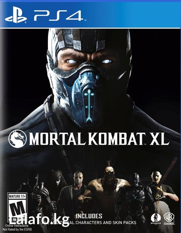 Mortal kombat xl ps4 в Бишкек