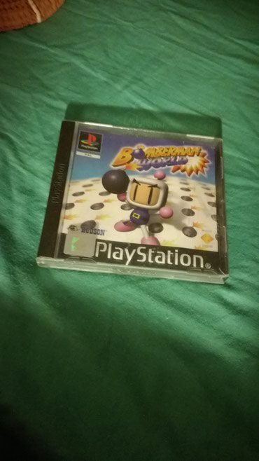 Bomber man's World PSX PAL Version