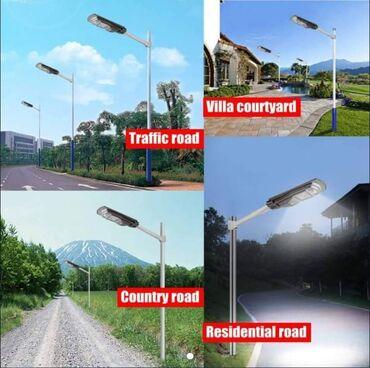 Kućne potrepštine - Arandjelovac: Solarni reflektori sa senzorom pokreta + daljinski upravljac + nosacNE