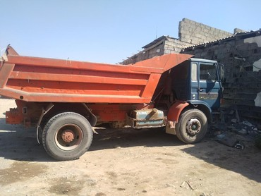 Услуга КамАЗ ЗИЛ шебен атцеф песок глина вывас мусор в Бишкек