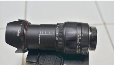 Продаю объектив для canon sigma 18-200 f3.5-6.3 ii со стабилизатором. в Бишкек