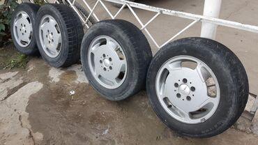 шина 205 65 r15 в Кыргызстан: Продаю R15 диска и шина W202 W203 W124 W123 W210 Исфана можно доставка