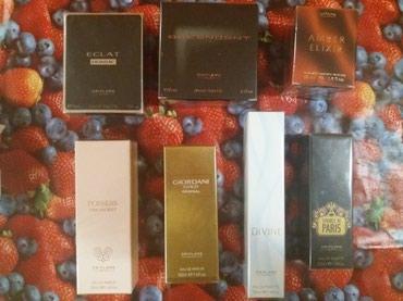 Novi parfemi ženski i muški. Svi su u celofanu. ORIFLAME. Rok im - Belgrade