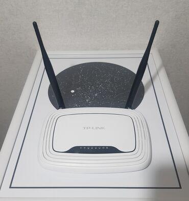 маршрутизаторы gbx в Кыргызстан: Продаю б/у wi-fi роутер, маршрутизатор TP-LINK TL-WR841N Подойдет для