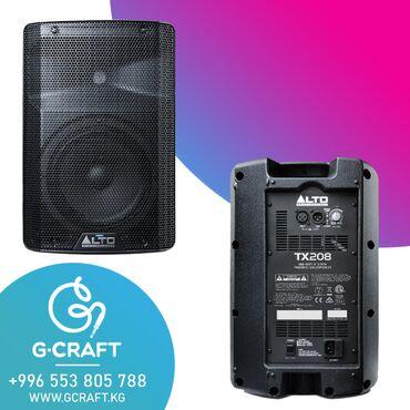 Электроника - Чок-Тал: Alto tx208 серия активных акустических систем, предназначенная для