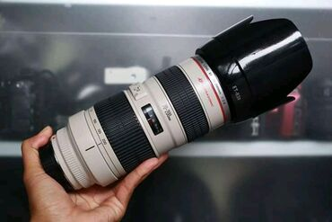 Canon Eos 5D Mark Iv, 70-200mm f2.8 sigma linzalarına malikdir, komple