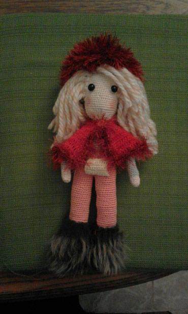 Heklana igracka lutka visine 30cm - Vrnjacka Banja