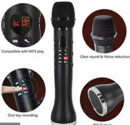 Микрофон караоке L-598 оригинал
