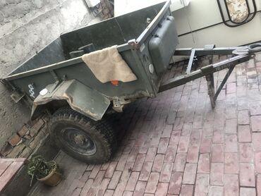 уаз бортовой бишкек in Кыргызстан | АВТОЗАПЧАСТИ: Прицеп военный УАЗ резина новая