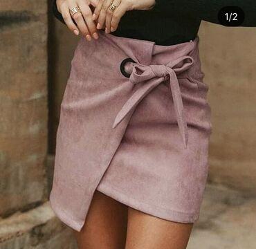 Bebi roze suknja