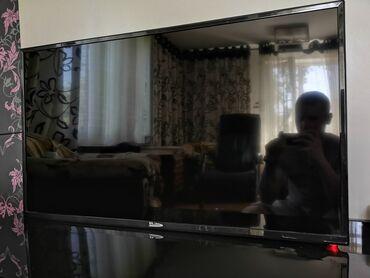 """ТВ и видео - Кыргызстан: 43"""" (110) см LED телевизор рекорд, в идеальном состоянии, пульт в"""