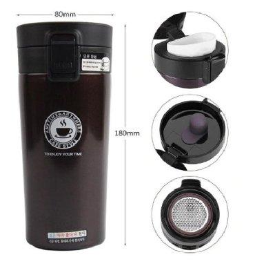 Портативная кофейная кружка для