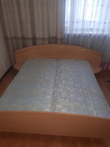 Срочно продаем двуспальную кровать с в Бишкек