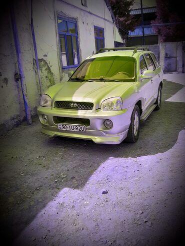 hyundai satilir in Azərbaycan | HYUNDAI: Hyundai Santa Fe 2.2 l. 2001 | 246539 km
