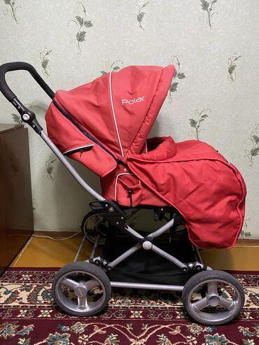 Коляски - Кыргызстан: Продаю детскую коляску Chicco Polar Состояние отличное всё работает  К