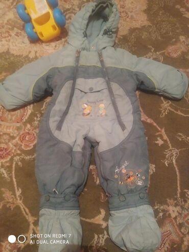 Бодики для мальчика - Кыргызстан: Продаю детские вещи в хорошем состоянии. Конверт для мальчика ручная