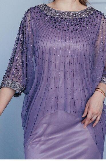 платья вечерние in Кыргызстан | МАТЕРИНСКИЕ ПЛАТЫ: Шикарное вечернее платье, состояние идеально новое в чехле, куплено в