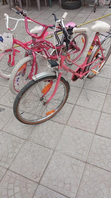 Zenski bicikli tri komada svi su dobro ocucani i ispravni