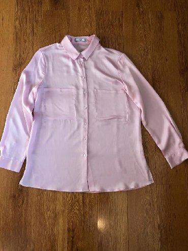 Рубашка MANGO (ориганал) шелк 800с,размер S