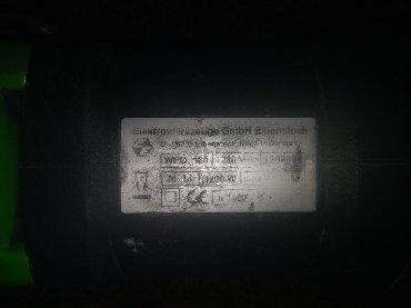 Nameštaj - Prijepolje: EIBENSTOCK polir masina 1200w (0 obrtaja max). Pod uglom.od 60C