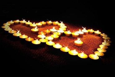 Свечи для романтического ужина в Бишкек