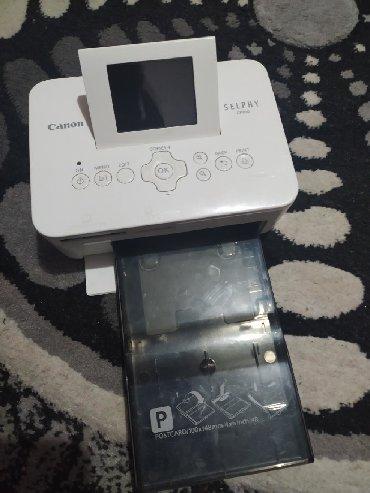 Printer canon lbp2900 - Кыргызстан: Продаю фото принтер Canon selphy cp810 всё в комплекте рабочий +