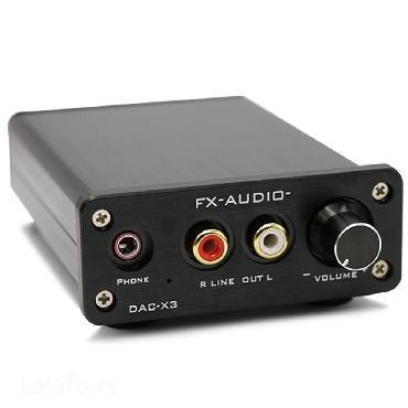 """Dac """"fx-audio"""" x3       Veoma kvalitetni metalni digitalno-analogni ko - Beograd"""