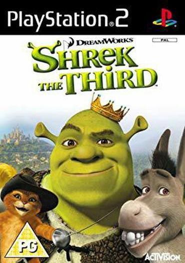PS2 & PS1 (Sony PlayStation 2 & 1) Azərbaycanda: Shrek The Third PS2 üçün mehşur animasyon filmi olan Şrek 3 konsol