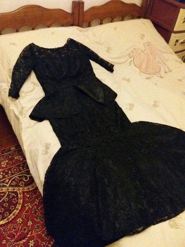 Bakı şəhərində Вечернее платье. 1 раз на свадьбу надели. 90 манат, покупали за 200.