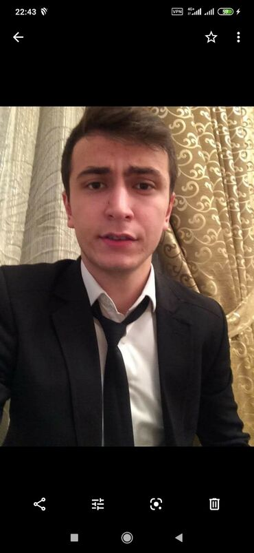 1 комнатная квартира в новостройке в Азербайджан: Кассир. 1-2 года опыта