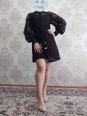 Вечернее платьеЦвет: черныйРазмер:sСостоит из 2 х комплектов