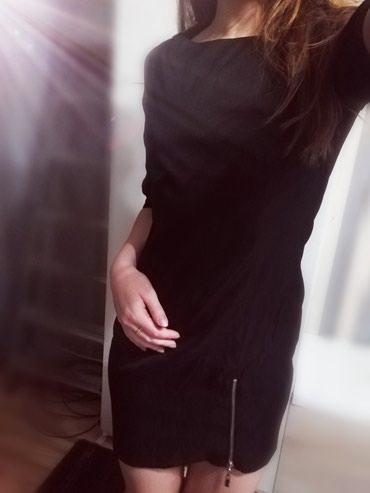 Платье выше колен. Рукав 3/4.Отлично сидит по фигурке.Размер s/m в Бишкек
