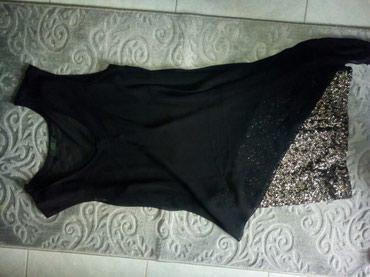 ΣΕΒΗ Μινι μαύρο φόρεμα με πατέρες κ  με έξτρα μουσελίνα από πάνω! σε Γαλατάς - εικόνες 3