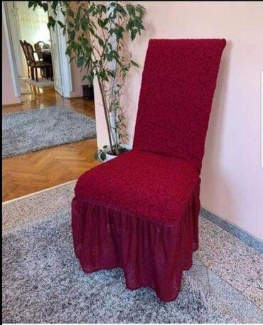 Kuća i bašta - Lajkovac: Navlake za stolice novi modeli pogodni za sve vrste stolica