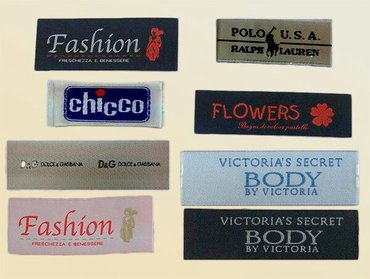 Услуги - Лебединовка: Этикетки, лейблы, бирки, вшивные этикетки для одежды, пакеты на заказ