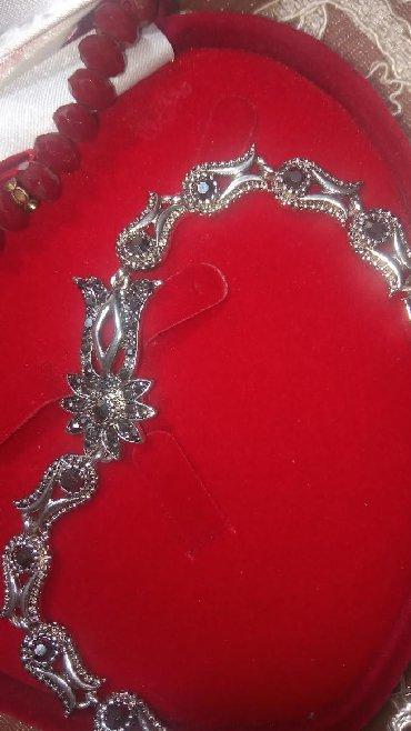 Браслет и цепочку серебро - Кыргызстан: Браслет под серебро